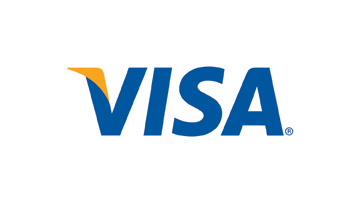 Payments can be made by Visa